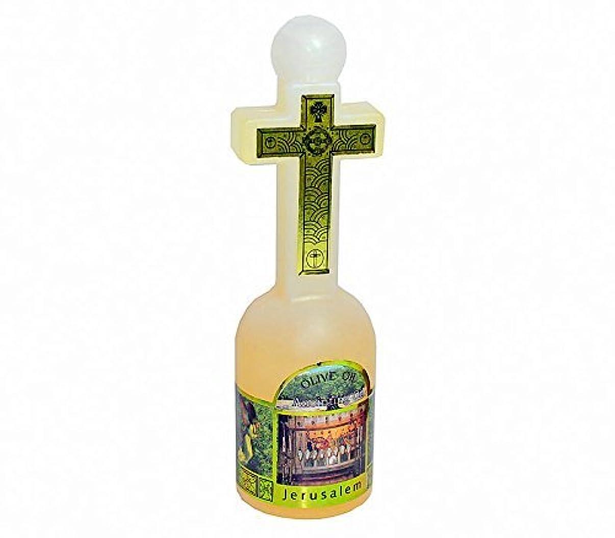 罪縮約アデレード聖地のアロマオイル ミルラ香油 十字架型ボトル エルサレム製