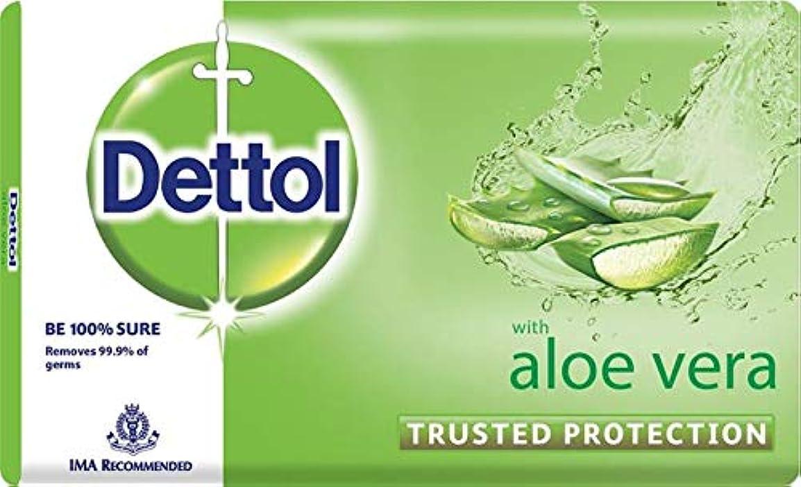 平和電子レンジ韓国Dettol Aloe Bathing Bar Soap - 100 g (Pack of 3)