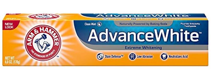 ドロップ新年天才Arm & Hammer Advance White, Baking Soda & Peroxide, Size: 6 OZ by CHURCH & DWIGHT [並行輸入品]