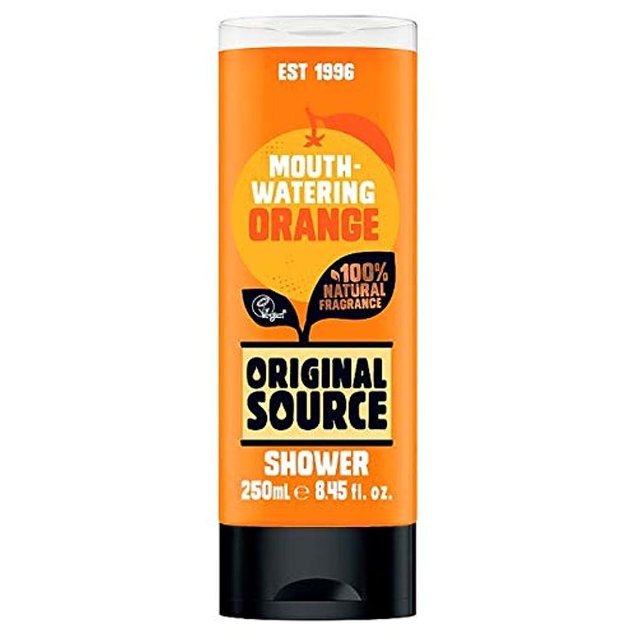 味満員のり[Original Source ] 元のソースオレンジシャワージェル250ミリリットル - Original Source Orange Shower Gel 250Ml [並行輸入品]