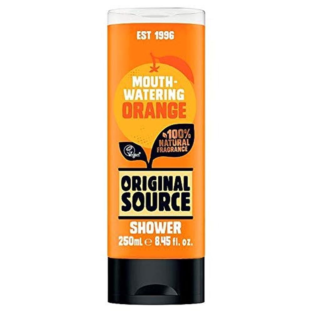 ネックレットリーズ無心[Original Source ] 元のソースオレンジシャワージェル250ミリリットル - Original Source Orange Shower Gel 250Ml [並行輸入品]