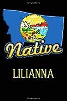 Montana Native Lilianna: College Ruled   Composition Book