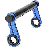 k-outdoor 自転車アクセサリー ハンドルバー エクステンションマウント ブラケット ホルダー フレーム2pcs付属 20cm 炭素繊維 全3色