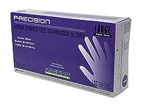 Adenna Precision 4 mil Nitrile Powder Free Exam Gloves (Violet, Large)