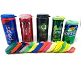 Soda Can Lids - 20 Made in The USA Soda Pop Beer Can Covers - BPA Free Fizz Keeper Caps