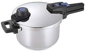 パール金属 圧力鍋 3.5L IH対応 3層底 切り替え式 プレミアムクイックエコ HB-3294