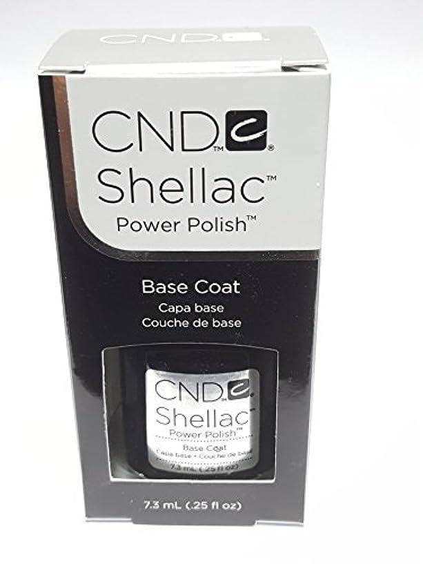 あごひげおいしいつまらないCND シーエヌディー シェラック UVベースコート 7.3ml
