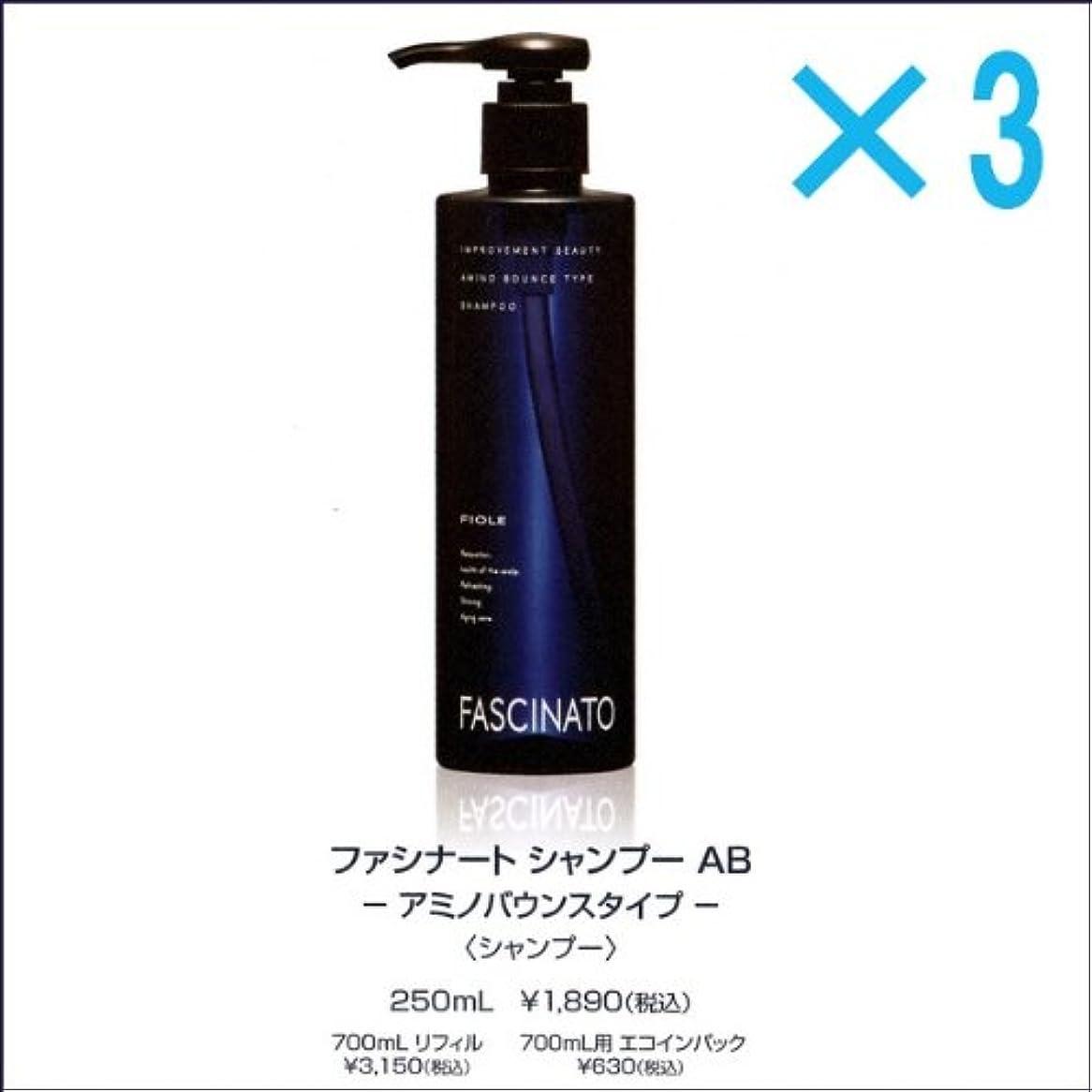 【X3個セット】 フィヨーレ ファシナート シャンプー AB 250ml アミノバウンスタイプ FIOLE