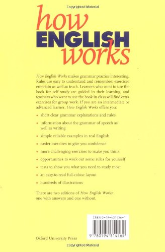 『How English Works: A Grammar Practice Book』の1枚目の画像