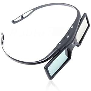 ルートアール Bluetooth互換 アクティブシャッター方式 3Dメガネ ボタン電池 RV-3DGBT2B