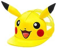 Baseball Cap - Pokemon - Pikachu Big Face with Ears Anime Licensed ba1b24pok