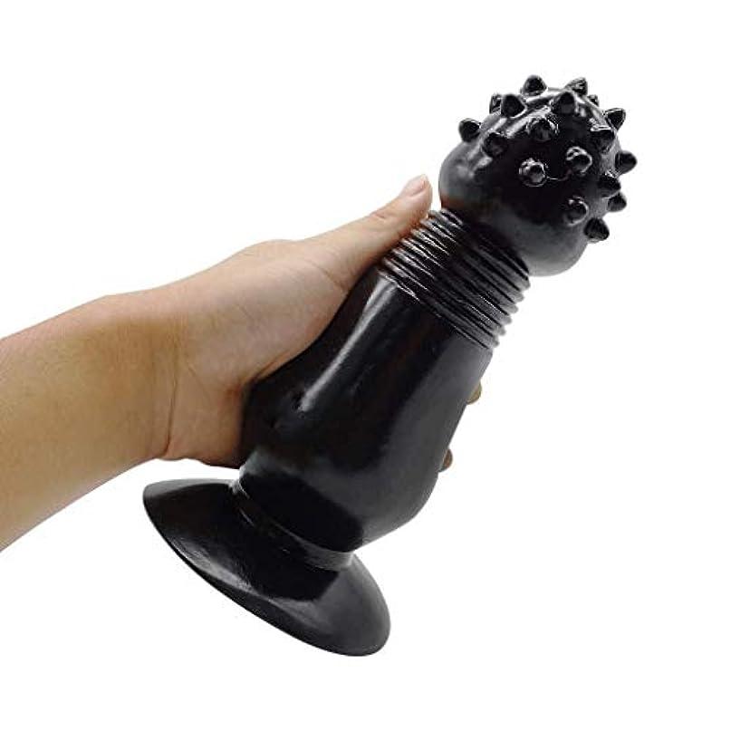 きつく処理空のサクションカップアナルセックスおもちゃで美容モリー優れた7.87インチの現実的なディルドー