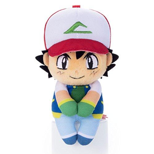 [해외]포켓몬 ちょこり 씨 사토시 인형 높이 약 13cm/Pokemon Chikiriten Satoshi Plush Doll Height Approximately 13 cm