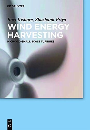 Wind Energy Harvesting: Micro-to-Small Scale Turbines (De Gruyter Textbook)