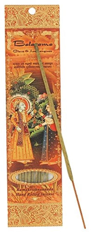 ぬいぐるみお父さん正確Incense Sticks Balaram – クローブとレモングラス