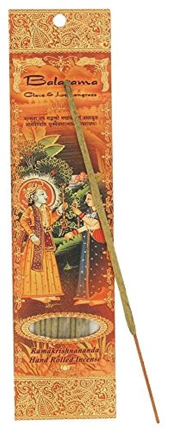 感性並外れて平行Incense Sticks Balaram – クローブとレモングラス
