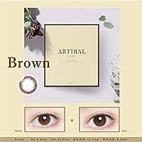 アーティラル UV&モイスト 【BC】8.6 【カラー】ブラウン 【PWR】-4.25 30枚入 2箱セット