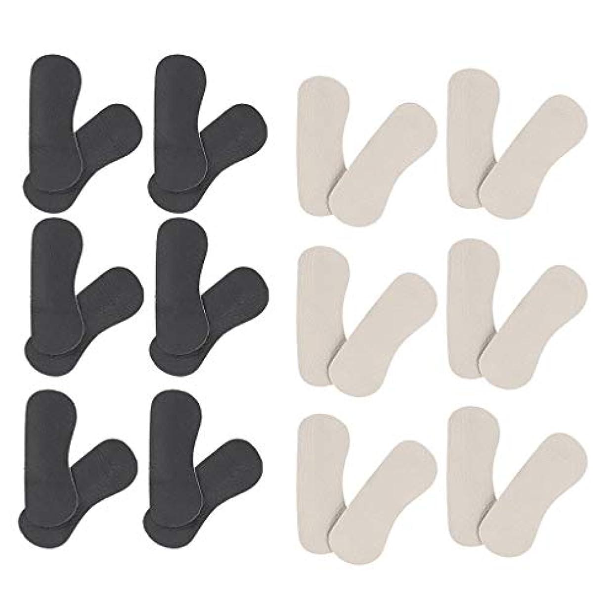 馬鹿小麦必要P Prettyia 靴擦れ防止 かかと パッドクッション パカパカ防止 ヒールパッド 踵 保護 ハイヒール 革靴 スニーカーに対応