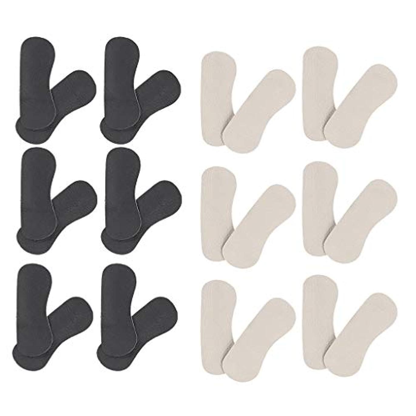 考慮グリップ暗くするP Prettyia 靴擦れ防止 かかと パッドクッション パカパカ防止 ヒールパッド 踵 保護 ハイヒール 革靴 スニーカーに対応