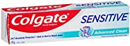 Colgate Sensitive Advanced Clean Sensitive Toothpaste Teeth Pain Relief 110g