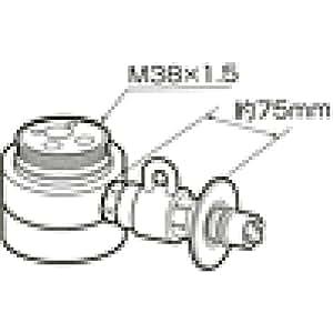 パナソニック 食器洗い乾燥機用分岐栓    CB-SED6