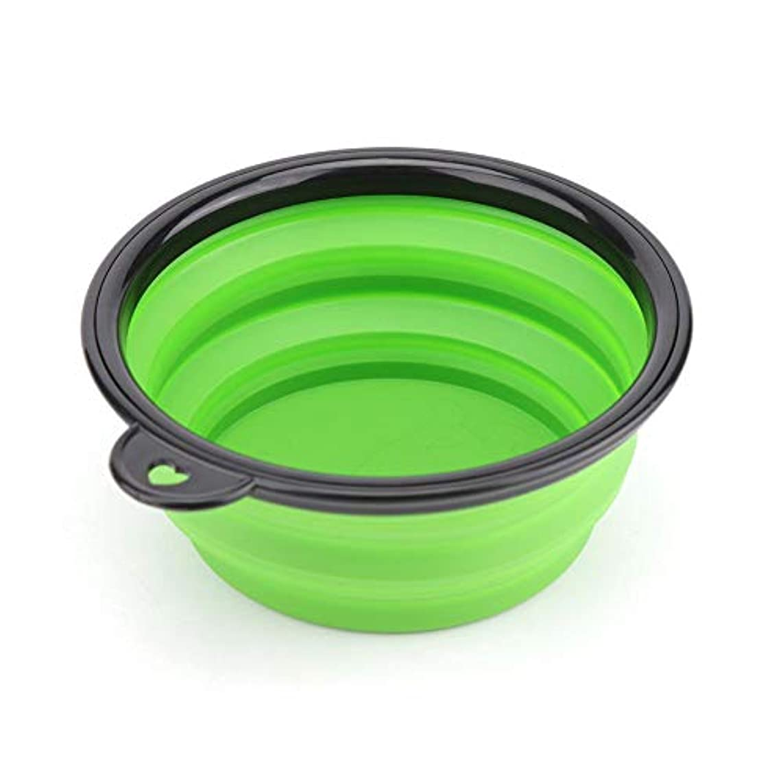Trendyest ペット用ボウル 折りたたみ式 外出ご飯皿 携帯式 軽量 給水器 給餌器 ピクニック 旅行用