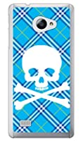 SECOND SKIN スカルパンク ブルー (クリア) / for VAIO Phone A VPA0511S・Biz VPB0511S/MVNOスマホ(SIMフリー端末) MVAPHA-PCCL-201-Y217