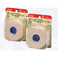 カラーテーピングテープ固定用25ミリ(ベージュ) 【バトルウィン】 (1ロール)