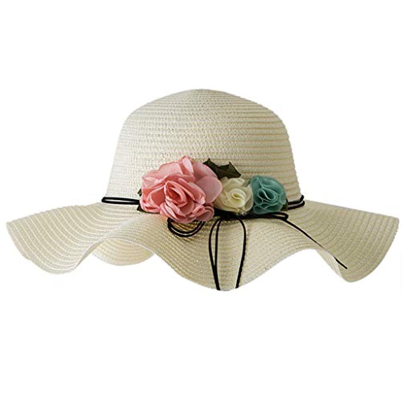 量郵便局抜け目のないアウトドアファッションビッグバイザー UVカット 帽子 レディース 春用帽子 小顔効果 折りたため 日よけ帽子 高性能 高耐久性 女性の春と夏の無地のコットンキャップ 漁師の帽子 流域キャップ 日焼け対策 ROSE ROMAN