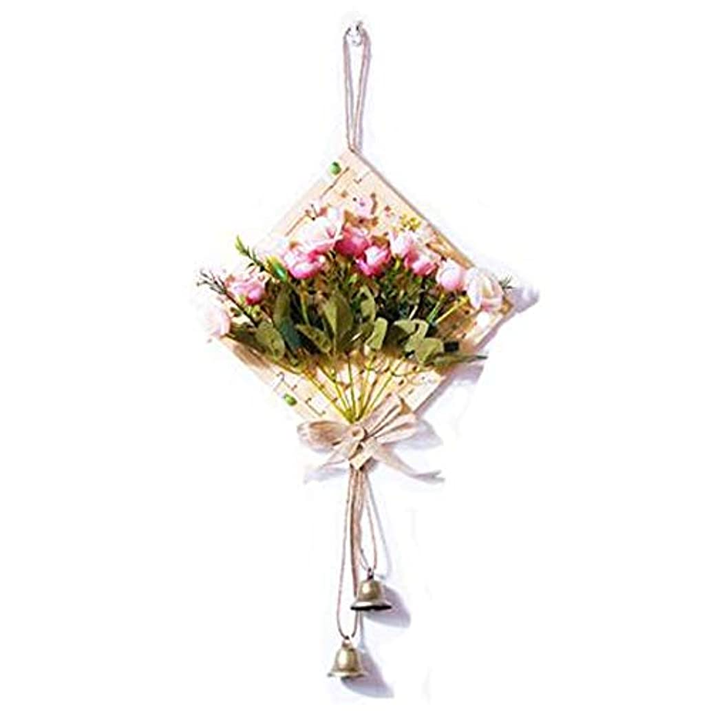 死の顎くるみ海里Kaiyitong01 風チャイム、クリエイティブ?竹風チャイム、白、幅28.5cmくらい,絶妙なファッション (Color : Pink)