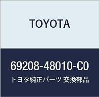 TOYOTA (トヨタ) 純正部品 リヤドアインサイド ハンドルSUB-ASSY LH (BLACK) ハリアー,ハリアー HV 品番69208-48010-C0