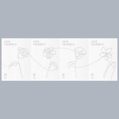 BTS (防弾少年団) 5thミニアルバム - LOVE YOURSELF 'Her' (ランダムバージョン)