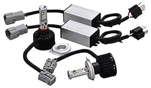 SMART(スマート)LEDヘッドライト LED HEADLIGHT SYSTEM H4HL 6500k LHS04