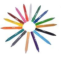 多機能安全非毒性Washable 16色面ペイントRetractableクレヨンボディペイントキット誕生日パーティーイベントハロウィン