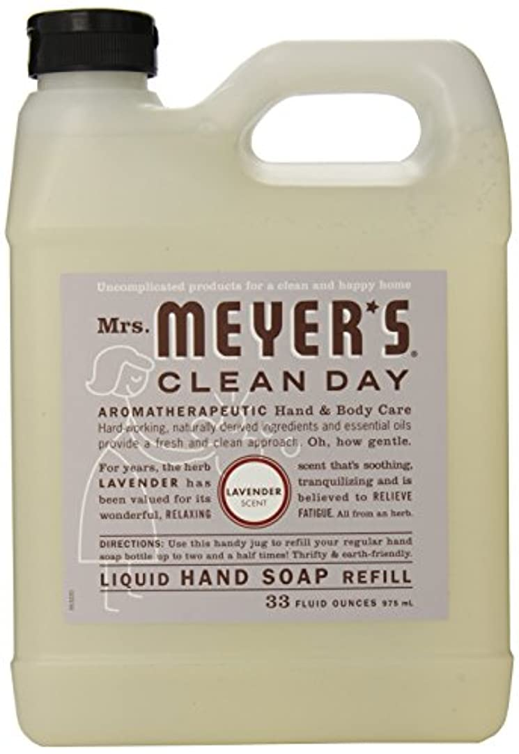 差し迫ったあまりにも安定しましたMrs. Meyer's Clean Day Liquid hand soap refill , 33 ounce by Mrs. Meyers Clean Day [並行輸入品]