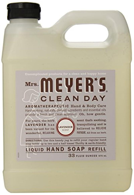 アート配分Mrs. Meyer's Clean Day Liquid hand soap refill , 33 ounce by Mrs. Meyers Clean Day