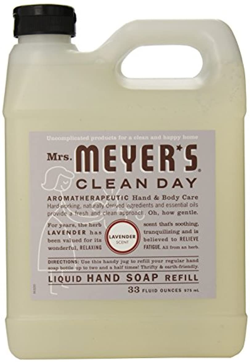 幻滅する石起こりやすいMrs. Meyer's Clean Day Liquid hand soap refill , 33 ounce by Mrs. Meyers Clean Day [並行輸入品]