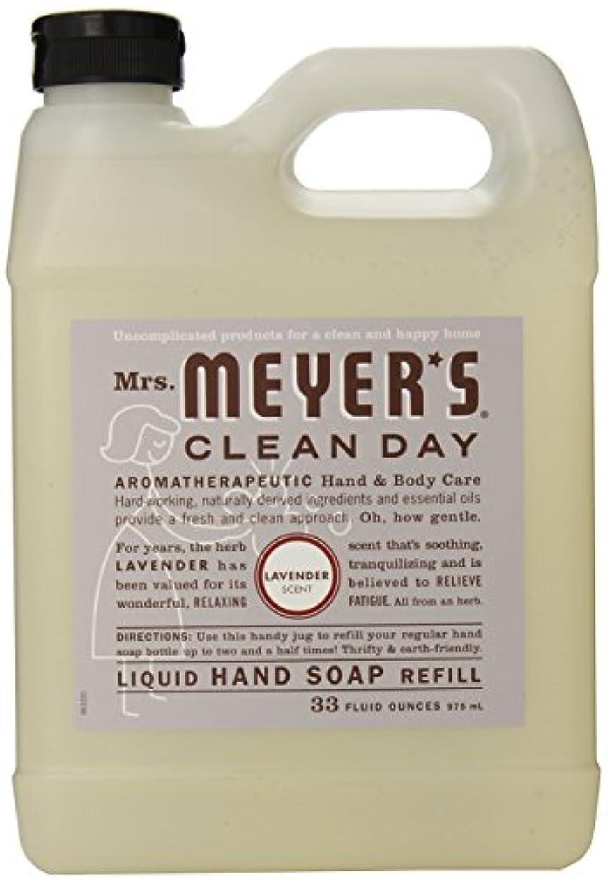 インペリアル努力する会話Mrs. Meyer's Clean Day Liquid hand soap refill , 33 ounce by Mrs. Meyers Clean Day [並行輸入品]