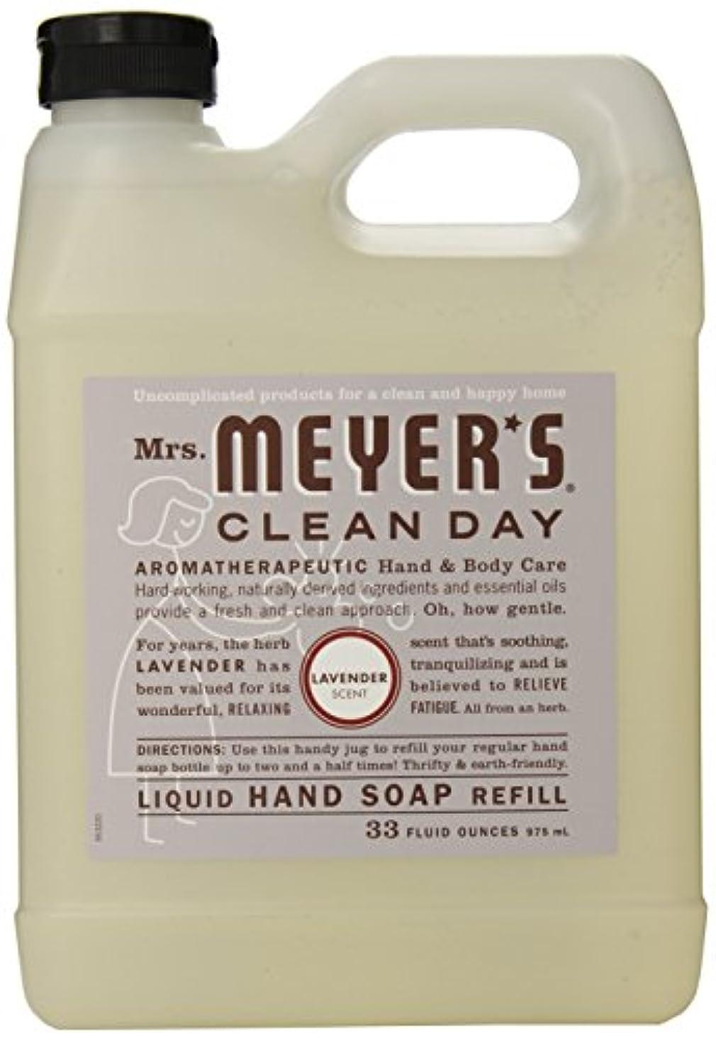 ライセンス国民外国人Mrs. Meyer's Clean Day Liquid hand soap refill , 33 ounce by Mrs. Meyers Clean Day [並行輸入品]