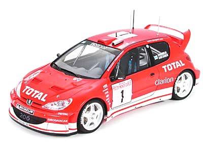 1/24 スポーツカー No.267 1/24 プジョー 206 WRC 2003