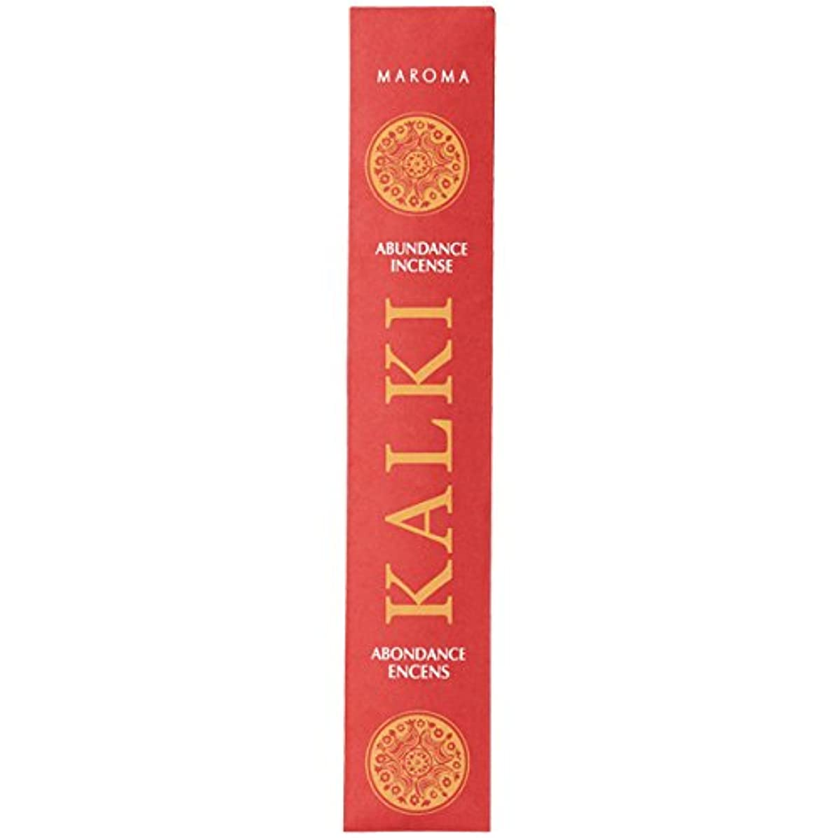 繰り返す彫刻家経済的カルキ アバンダンス (KALKI ABUNDANCE) (裕福な心) 10本(25g) お香