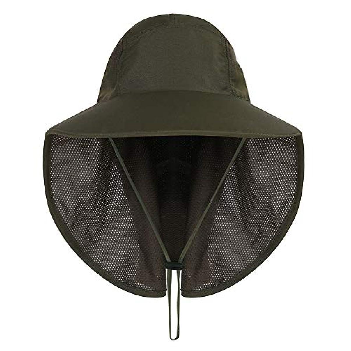周り加速度心のこもったWodery 釣りハット 帽子 フィッシングハット 通気性 速乾 日焼け防止 紫外線対策 農作業用 登山 釣り プール 海水浴 アウアドア