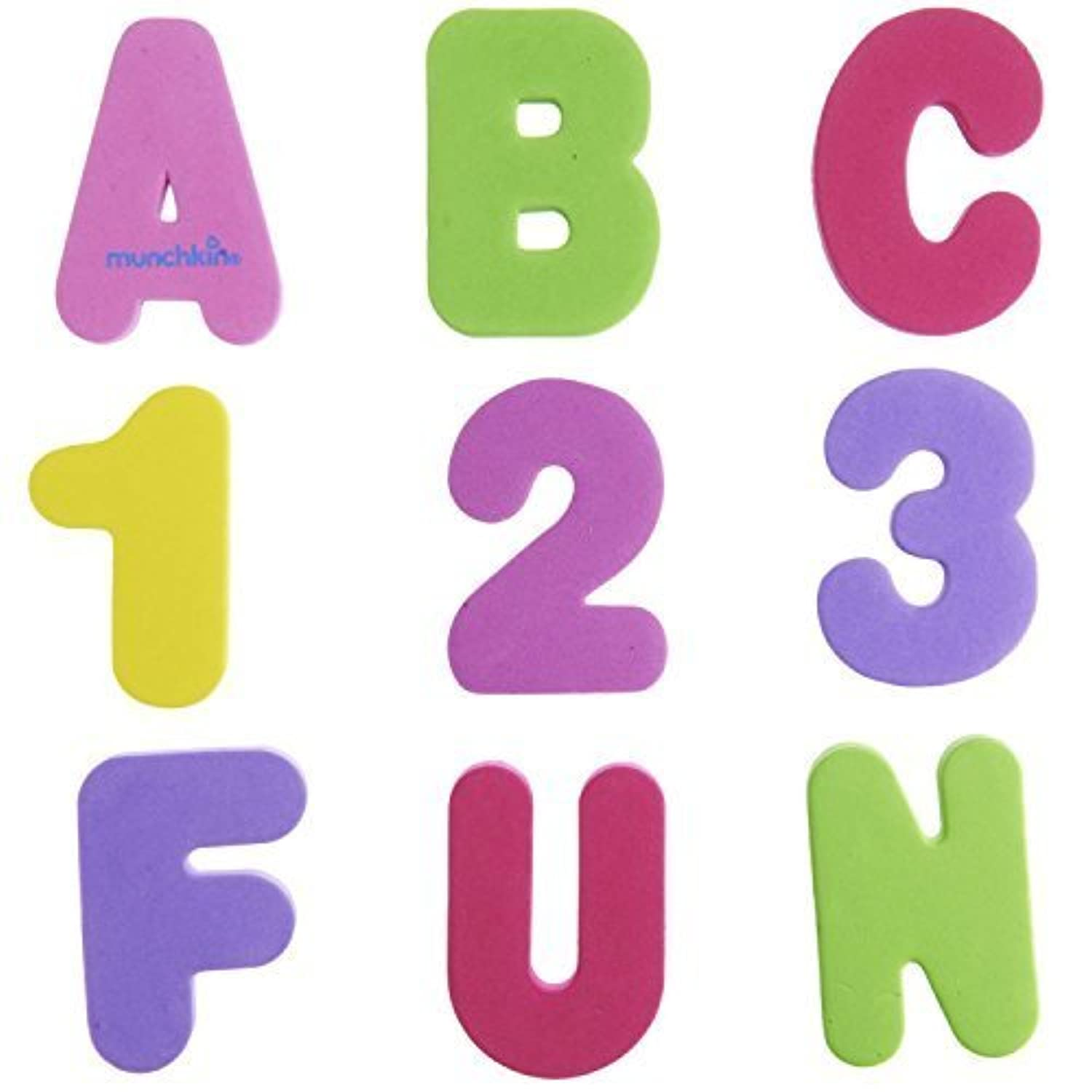 Munchkin Bath Letters and Numbers Pastel by Munchkin [並行輸入品]