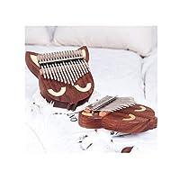Youshangshipin001 Kalimba、動物の形Kalimbaサムピアノ、ユニバーサルスタイルを演奏する17音の初心者プロフェッショナル、(スタイル1、フルギフト) レトロスタイル (Edition : Style 3 sound hole models)