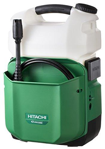 日立工機 14.4V コードレス高圧洗浄機 充電式 容量8L ...
