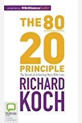 The 80/20 Principle: The Secret of Achieving More with Less MP3 CD