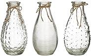 EMPORIUM S/3 Sable Bottle Vases