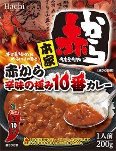 ハチ食品 赤から 辛味の極み10番カレー 200g