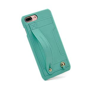 【HANATORA】 iPhone 8 Plus/iPhone 7 Plus 対応 Handy PUレザー ハードケース ミントグリーン H6-7Plus-MintGreen