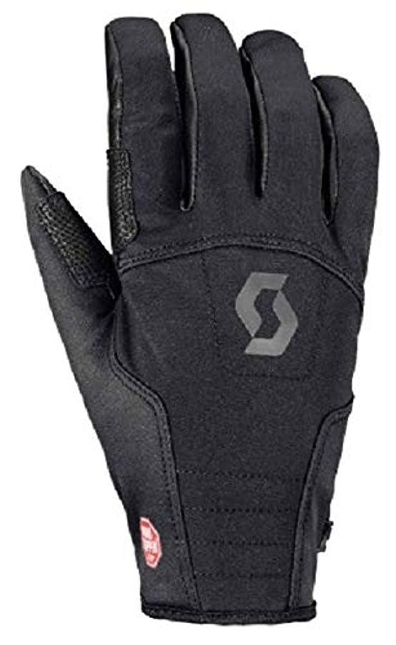 クラッシュ波コントローラスコット(Scott) スキー 登山 クライミング グローブ 【Explorair Softshell Glove】 ブラック 1104005